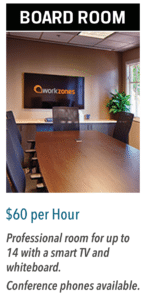 Board room $60 per hour