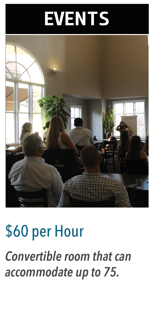 Events $60 per hour