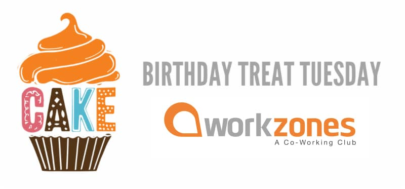 Birthday Treat Tuesday...a workzones tradition!