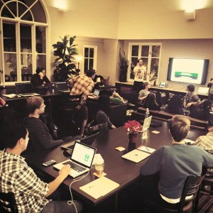 Learn to code meetup Workzones Santa Barbara