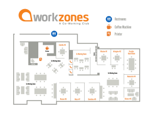 Workzones map