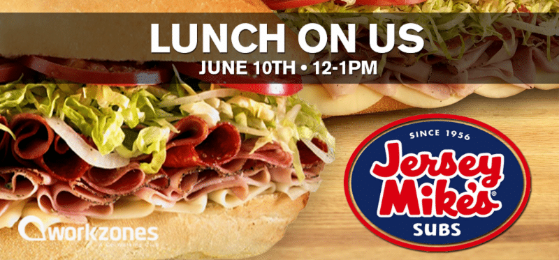 Lunch on Us Jersey Mike's Subs