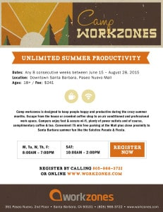 Camp workzones @ workzones | Santa Barbara | California | United States