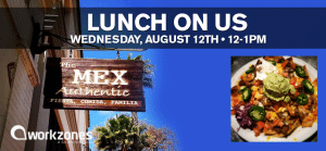 Lunch On Us - The Mex Authentic