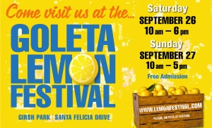 Goleta Lemon Festival @ Girsh Park | Goleta | California | United States