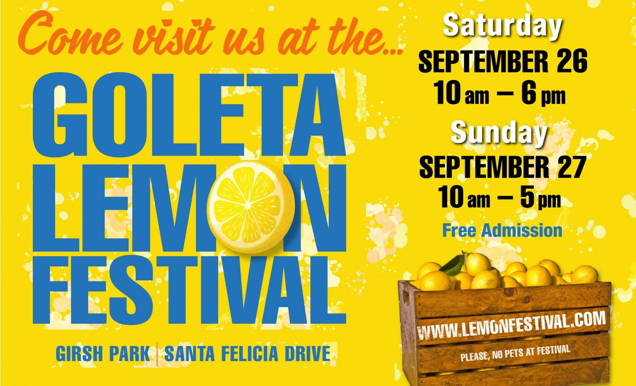 Goleta Lemon Festival at Girsh Park