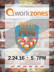 Workzones Beer Pong