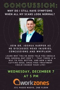 Imagine X - Concussion Talk @ workzones | Santa Barbara | California | United States