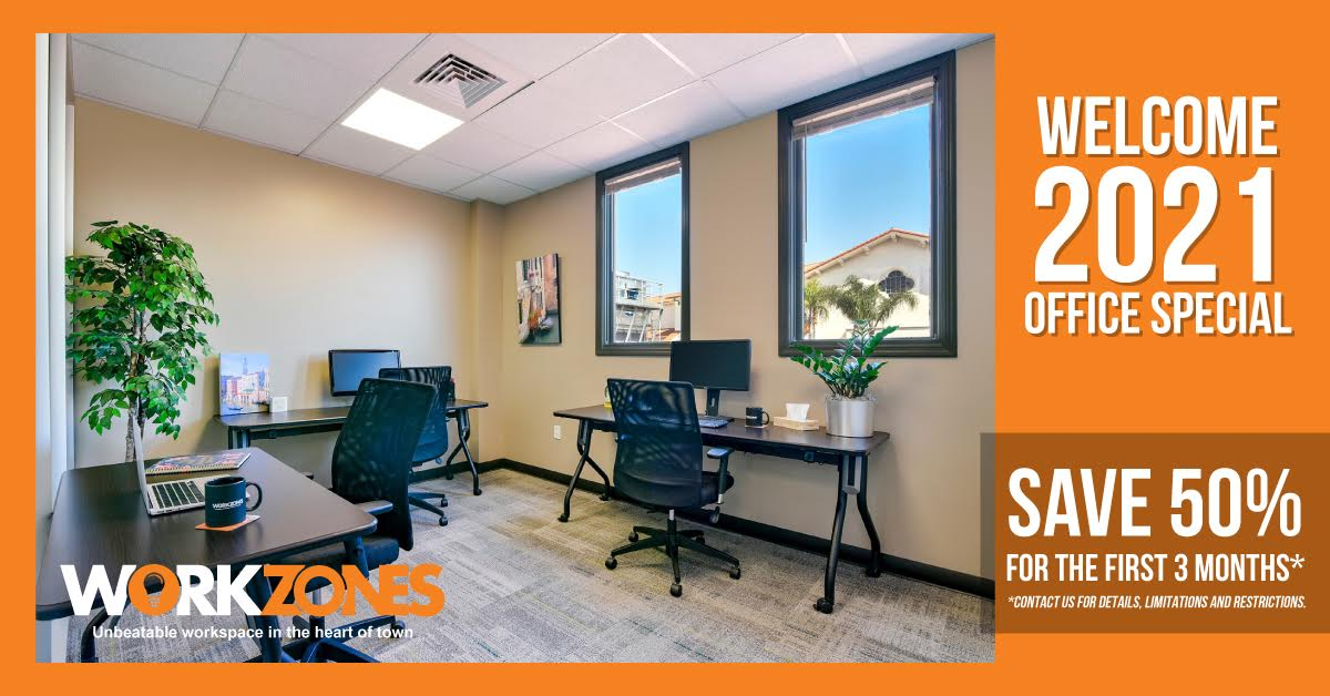 January Workzones Private Office Special Offer